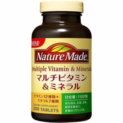 ネイチャーメイド マルチビタミン&ミネラル(200粒入)[マルチビタミン]