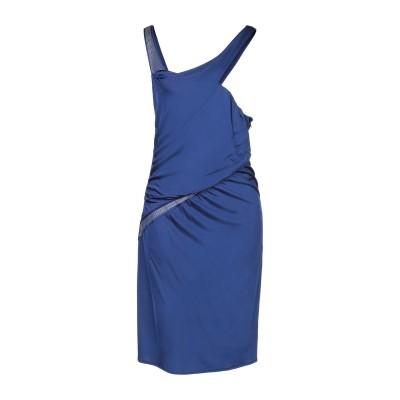 コスチューム ナショナル COSTUME NATIONAL ミニワンピース&ドレス ブルー 46 レーヨン 94% / ポリウレタン 6% ミニワン
