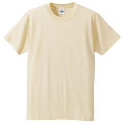 ds-1646112 Tシャツ CB5806 ナチュラル XLサイズ 【 5枚セット 】 (ds1646112)