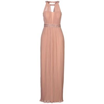 SOLOGIOIE ロングワンピース&ドレス ローズピンク 42 ポリエステル 100% ロングワンピース&ドレス