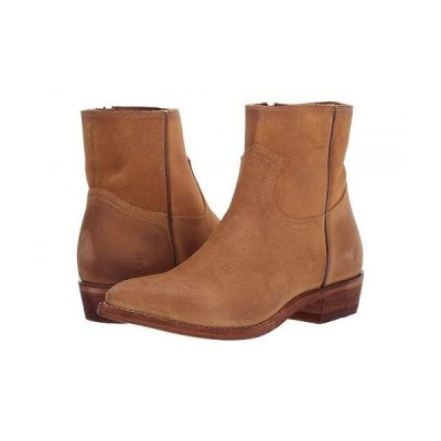 Frye フライ レディース 女性用 シューズ 靴 ブーツ アンクルブーツ ショート Billy Inside Zip Bootie - Brandy Suede