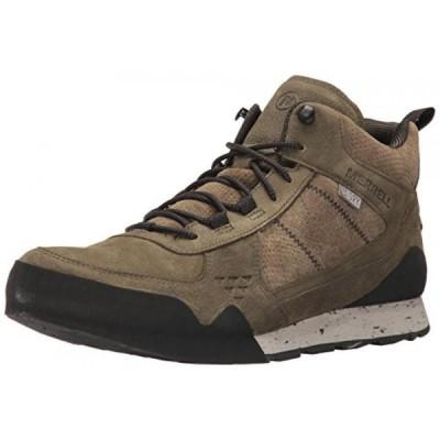 メレル メンズ ブーツ Merrell Men's Burnt Rock Mid Waterproof Fashion Sneaker
