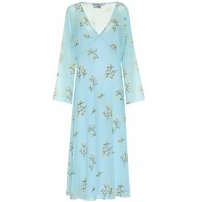 ベルナデッタ Bernadette レディース ワンピース ワンピース・ドレス Zoe floral georgette dress Blue Branch