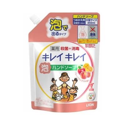 【T】【大容量♪】 キレイキレイ 泡ハンドソープ フルーツミックスの香り 詰替え用 大型サイズ(450mL)