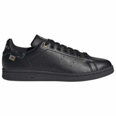(取寄)アディダス オリジナルス レディース シューズ スタン スミス adidas originals Women's Shoes Stan Smith Core Black Gold Metall