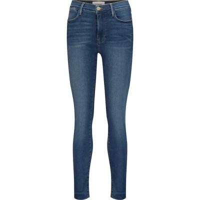 フレーム Frame レディース ジーンズ・デニム クロップド ボトムス・パンツ Le High cropped skinny jeans Ambrose