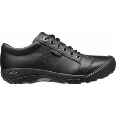 キーン メンズ スニーカー シューズ KEEN Men's Austin Casual Shoes Black