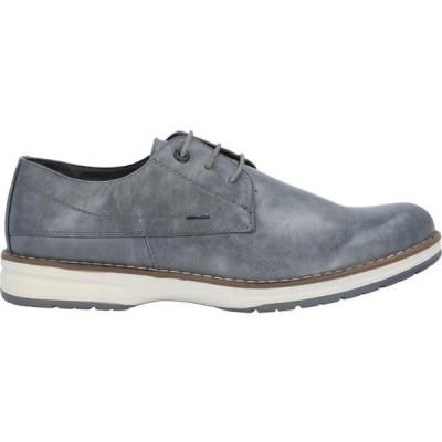 TSD12 メンズ 革靴・ビジネスシューズ シューズ・靴 Laced Shoes Grey