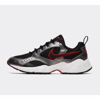 ナイキ Nike メンズ スニーカー シューズ・靴 air heights trainer Black/Metallic Grey/Dark Grey
