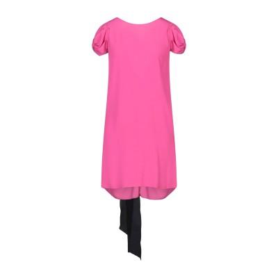 ヌメロ ヴェントゥーノ N°21 ミニワンピース&ドレス フューシャ 40 アセテート 69% / シルク 31% ミニワンピース&ドレス