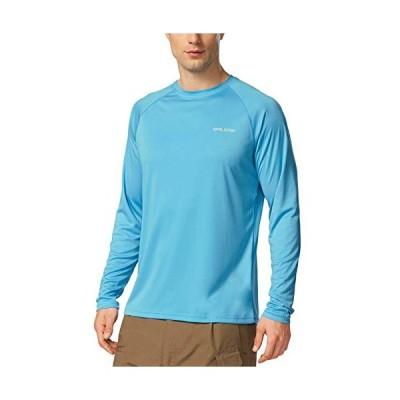 バリーフ(Baleaf) スポーツシャツ メンズ 長袖 UPF 50+ UVカット99% 吸汗速乾 蒸れない ストレッチ アウトドア 日焼け
