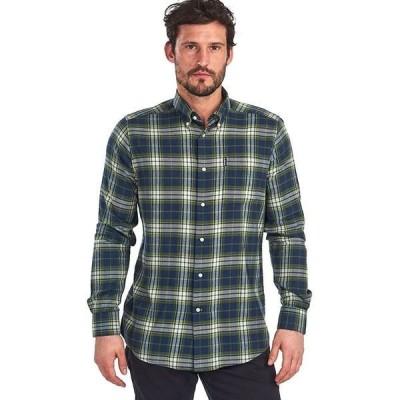 バーブァー メンズ シャツ トップス Eco 1 Tailored Shirt