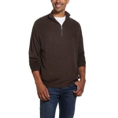 ウェザープルーフ ニット&セーター アウター メンズ Men's Soft Touch 1/4 Zip Sweater Oxblood Heather