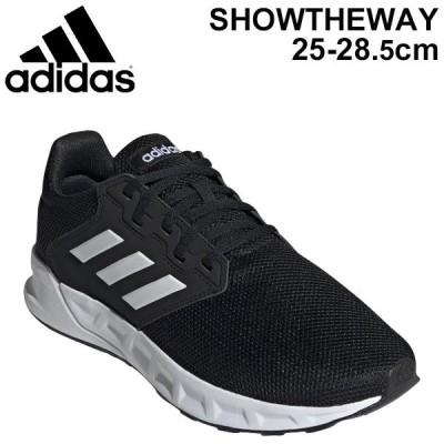 ランニングシューズ メンズ adidas アディダス SHOWTHEWAY M/ジョギング スポーツシューズ LDC99 靴 くつ/FX3754