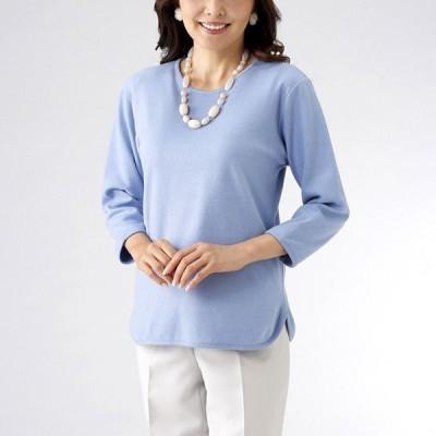 綿100% 七分袖Tシャツ  IK-001