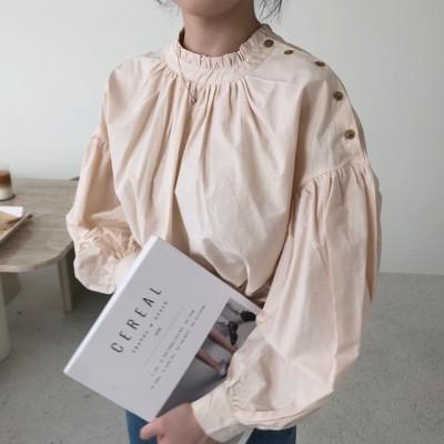 New Arrivals 09.10💗julyei💛韓国のファッションコレクション 💗 💛フレンチヴィンテージシャツ