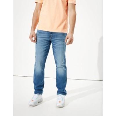 アメリカンイーグル メンズ デニムパンツ ボトムス AE AirFlex+ Original Straight Jean Medium Vintage
