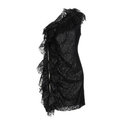 エムエスジーエム MSGM ミニワンピース&ドレス ブラック 40 90% レーヨン 10% ナイロン ミニワンピース&ドレス