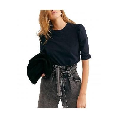 Free People フリーピープル レディース 女性用 ファッション Tシャツ Just A Puff - Black