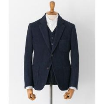 アーバンリサーチFREEMANS SPORTING CLUB INDIGO SASHIKO 2BSHACKET【お取り寄せ商品】
