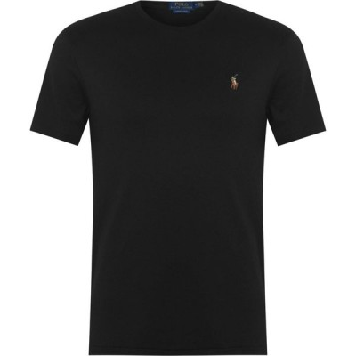 ラルフ ローレン Polo Ralph Lauren メンズ Tシャツ トップス Pima T Shirt Polo Black