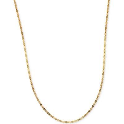 """イタリアン ゴールド Italian Gold メンズ ネックレス ジュエリー・アクセサリー 16"""" Polished Fancy Link Chain Necklace (1-1/2mm) in 14k Gold Gold"""