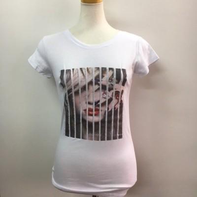 4サイズ展開です【クリックポスト(メール便)対応】LA仕入★ラインストーン&フォトプリントTシャツ