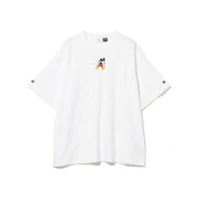 <UNISEX>Champion × BEAMS BOY / 別注<Disney(ディズニー)/ミッキーマウス>Tシャツ