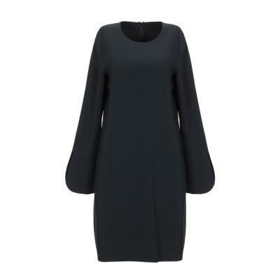 ANTONELLI ミニワンピース&ドレス ブラック 40 レーヨン 70% / アセテート 26% / ポリウレタン 4% ミニワンピース&ドレス