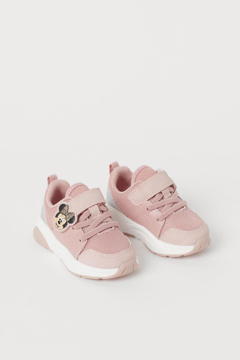 H & M - 貼花運動鞋 - 橙色