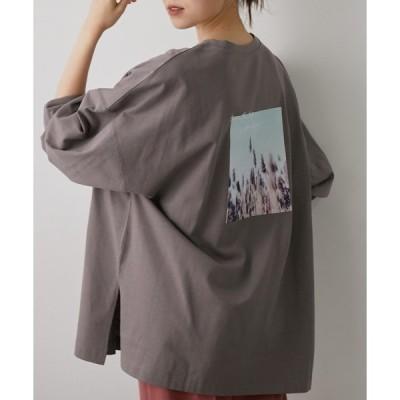 tシャツ Tシャツ 【WEB限定】バックフォトロングTシャツ