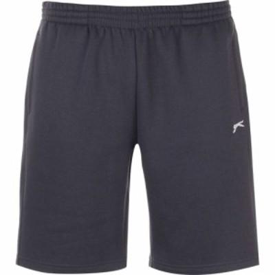 スラセンジャー Slazenger メンズ ショートパンツ ボトムス・パンツ Fleece Shorts Navy