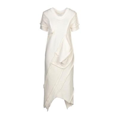 リミ フゥ LIMI FEU ロングワンピース&ドレス アイボリー S ウール 100% ロングワンピース&ドレス
