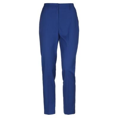 ブルマリン BLUMARINE パンツ ブルー 44 ポリエステル 65% / レーヨン 33% / ポリウレタン 2% パンツ