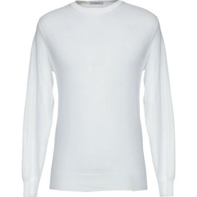 パオロ ペコラ PAOLO PECORA メンズ ニット・セーター トップス sweater White