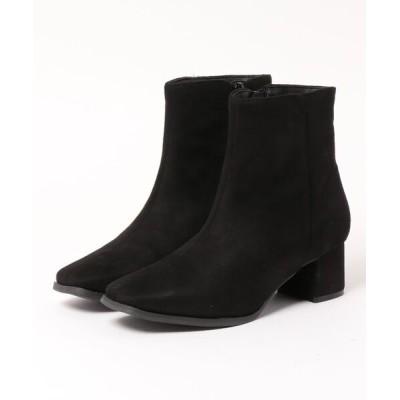 kobelettuce / スクエアトゥショートブーツ WOMEN シューズ > ブーツ