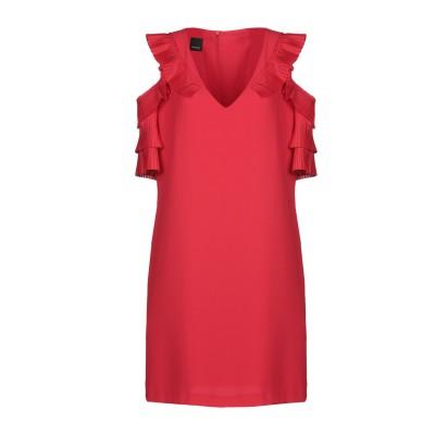 ピンコ PINKO ミニワンピース&ドレス レッド 42 ポリエステル 100% ミニワンピース&ドレス