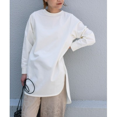 tシャツ Tシャツ 【日本製】オーガニックコットンロングスリーブカットソー