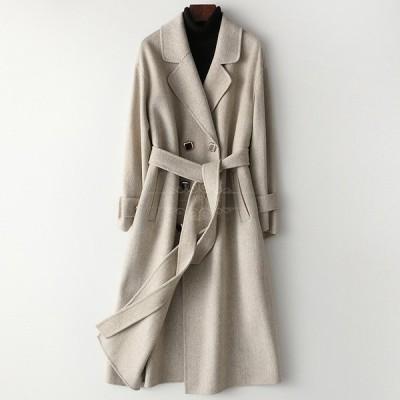 コート レディース 暖かい OL ジャケット ファション 通勤 冬アウター トレンチコート 新作 2色