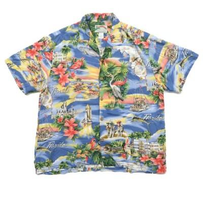 PARADISE FOUND オールド レーヨン アロハシャツ サイズ表記:L