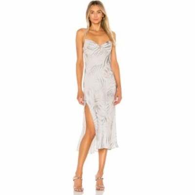 サン ビカムス ハー Sun Becomes Her レディース ワンピース サンドレス ワンピース・ドレス Wildflower Midi Dress Pearl Animal