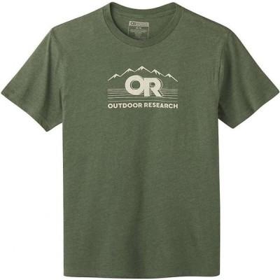 アウトドアリサーチ Outdoor Research メンズ Tシャツ トップス OR Advocate SS Tee Juniper Heather