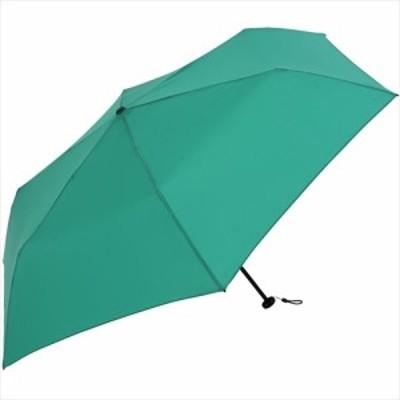 ニフティカラーズ カーボン軽量ミニ 55cm 1414GR グリーン│レインウェア・雨具 折りたたみ傘