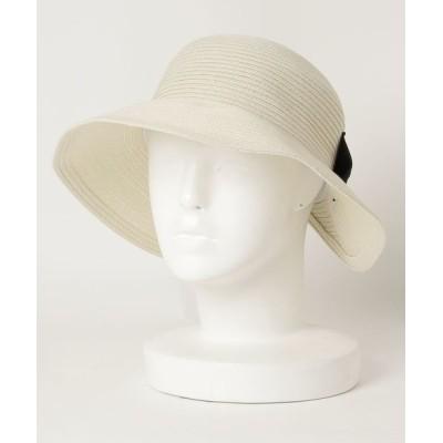 COLLARS / BIGリボン ポケッタブルハット (オリジナルバッグ付) WOMEN 帽子 > ハット