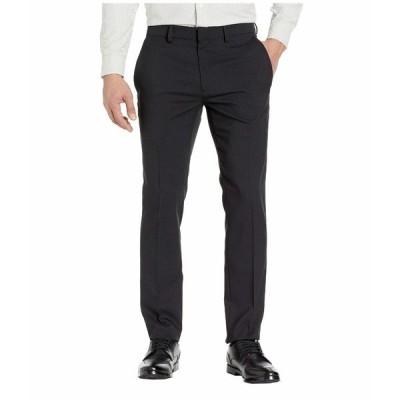 ケネスコール カジュアルパンツ ボトムス メンズ Stretch Heather Tic Slim Fit Dress Pants Black