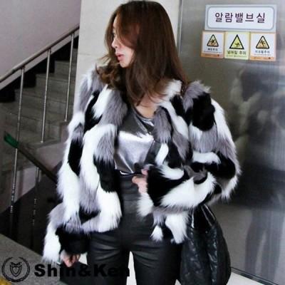 毛皮 コート レディース 秋冬 毛皮 コート ファーコート エコファー コート 大きいサイズ 毛皮 コート