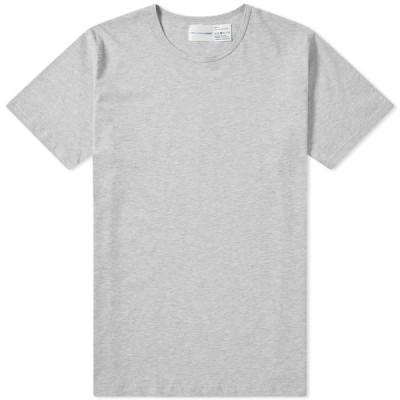 コム デ ギャルソン Comme des Garcons SHIRT メンズ Tシャツ サンスペル トップス x Sunspel Crew Tee Grey