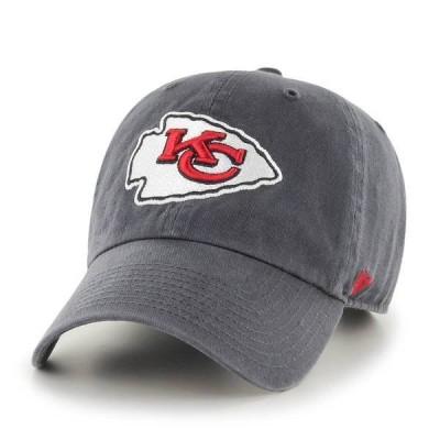 フォーティーセブン メンズ 帽子 アクセサリー '47 Men's Kansas City Chiefs Cleanup Adjustable Hat