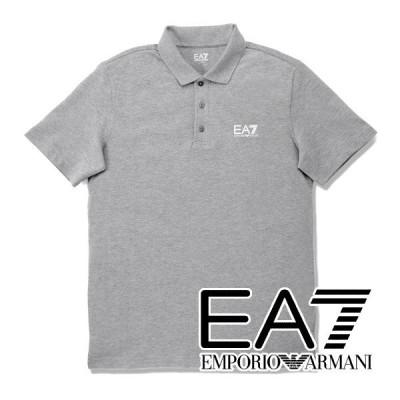 エンポリオ・アルマーニ EA7 ポロシャツ(ミディアムグレー) EA-222