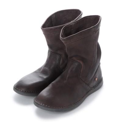 ヨーロッパコンフォートシューズ EU Comfort Shoes Softinos ミドルブーツ(900.402) (ブラウン)